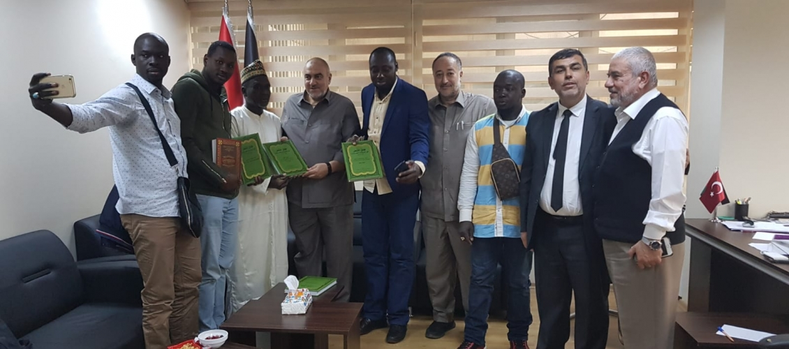 Une délégation de l'association sénégalaise «Ansar al-Din» en Turquie visite le Conseil de coopération Afro-asiatique.