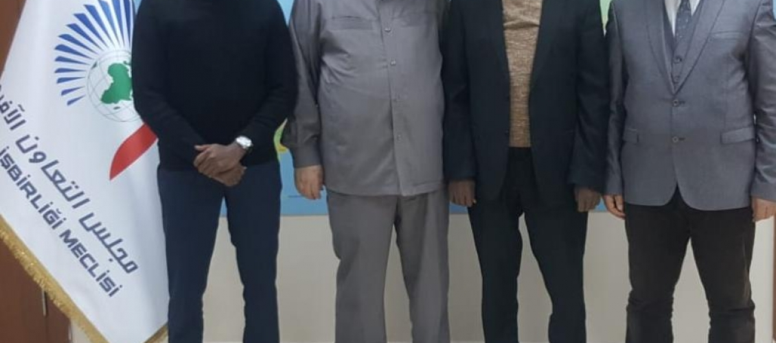 Münir Said, Somali Ulusal Kalkınma Konferansı Başkanı Ömer Abdurrahman Muhammed'i Kabul Etti