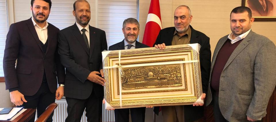 Le Conseil de coopération afro-asiatique organise une visite chez le vice-ministre des Finances et du Trésor de Turquie, M. Nureddin Nebati